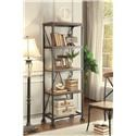 "Homelegance Millwood 26"" W Bookshelf - Item Number: 5099-16"