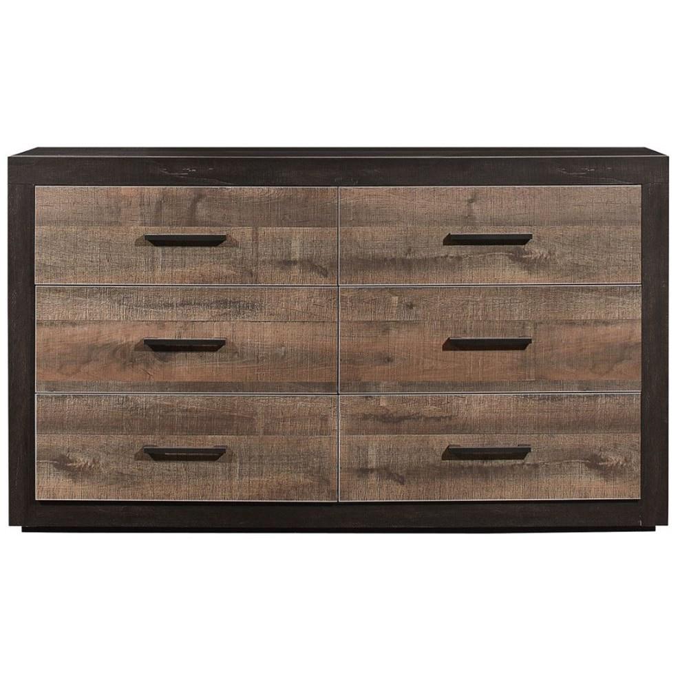 Miter Dresser by Homelegance at Beck's Furniture