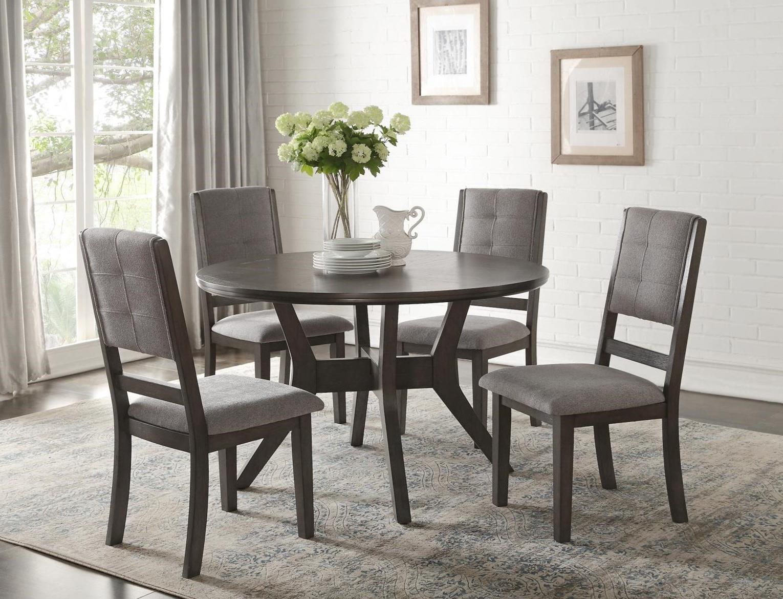 Homelegance Nisky Transitional Round Dining Table   Value ...