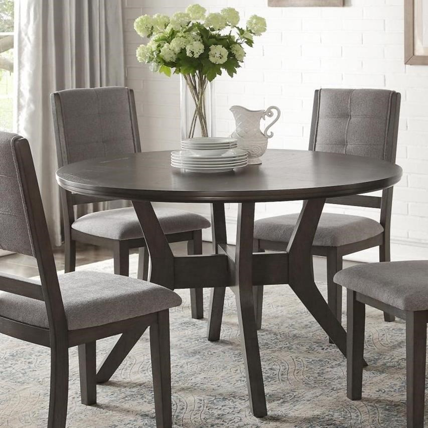 Nisky Round Dining Table by Homelegance at Beck's Furniture