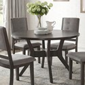Homelegance Nisky Round Dining Table - Item Number: 5165GY-48