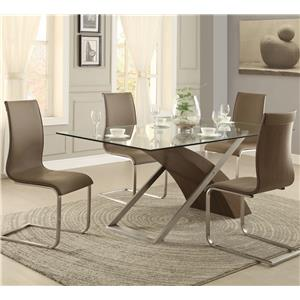 Homelegance Odeon 5 Piece Dining Set