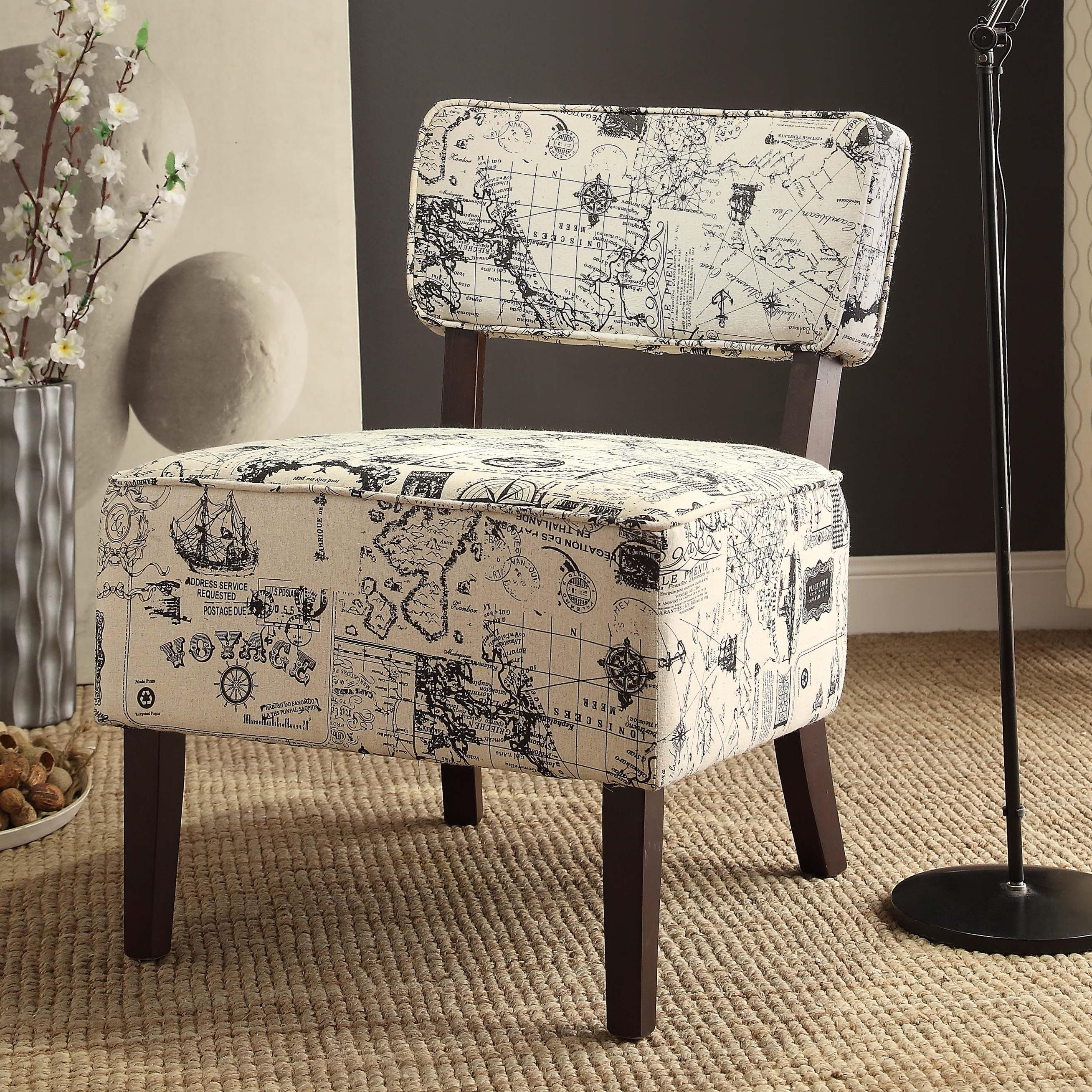 Homelegance Orson Accent Chair - Item Number: 1191F3S