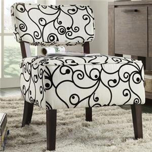 Homelegance Orson Armless Accent Chair