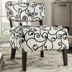 Homelegance Orson Armless Accent Chair