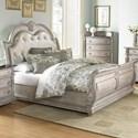 Homelegance Palace II Queen Sleigh Bed - Item Number: 1394N-1+2+3