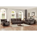 Homelegance Pecos Casual Power Reclining Sofa