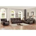 Homelegance Pecos Casual Reclining Sofa