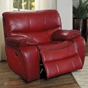 Homelegance Pecos Casual Power Recliner - Item Number: 8480RED-1PW