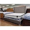 Homelegance Reed Upholstered Bed - Item Number: HOMELO-GRP-228-QNBED