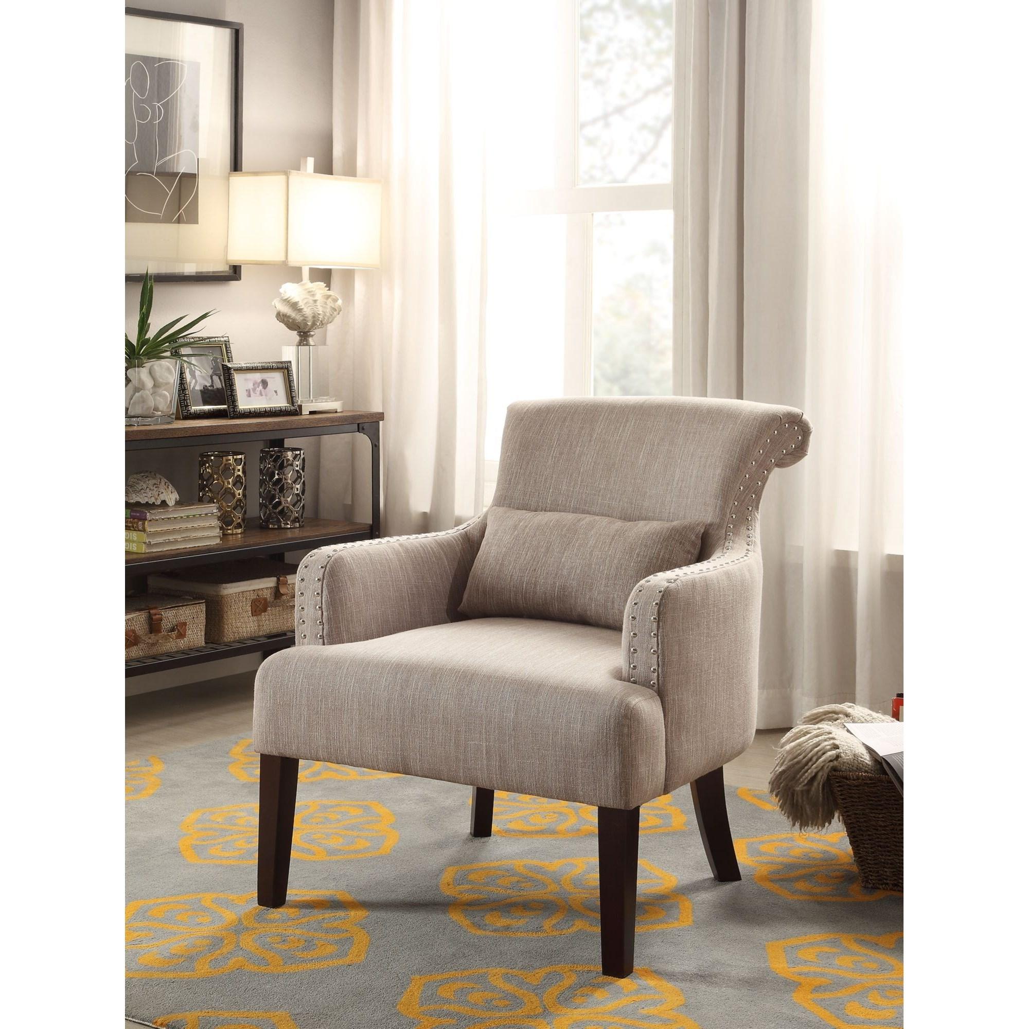 Homelegance Reedley Transitional Upholstered Chair - Item Number: 1235BR