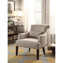 Homelegance Reedley Transitional Upholstered Chair - Item Number: 1235BR