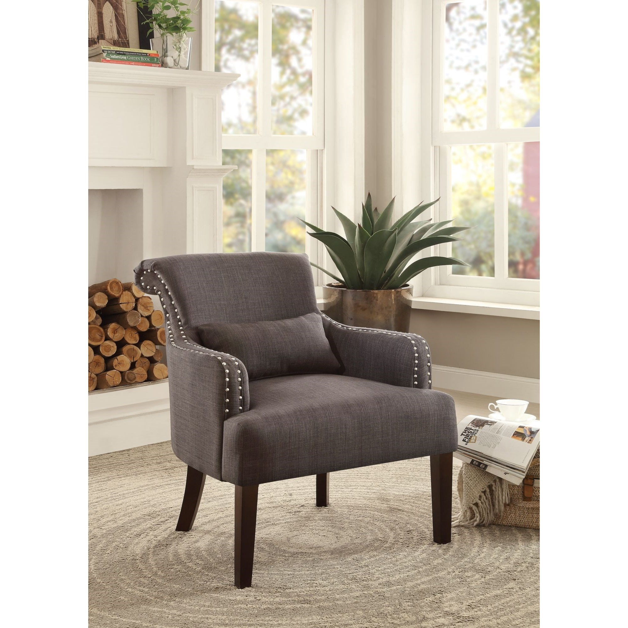 Homelegance Reedley Transitional Upholstered Chair - Item Number: 1235CH