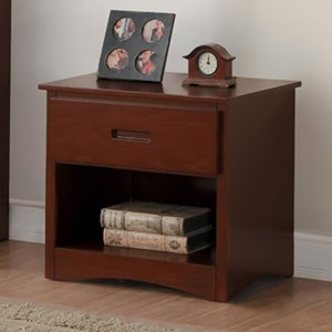 Homelegance Rowe Night Stand