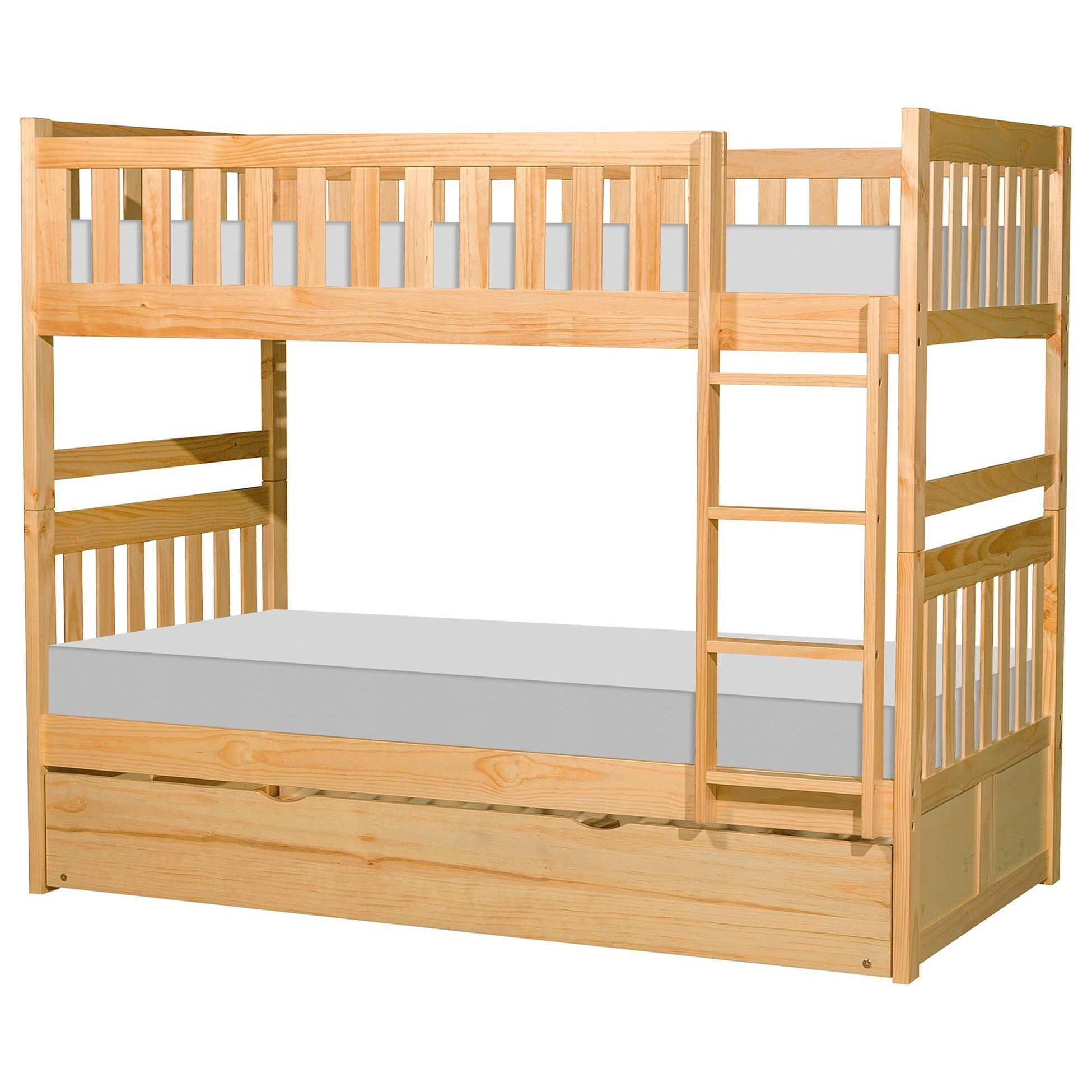 Twin Over Twin Trundle Bunk Bed