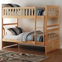 Homelegance Bartly Twin Bunk Bed - Item Number: B2043-1+2+SL