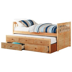 Twin Captain's Bed