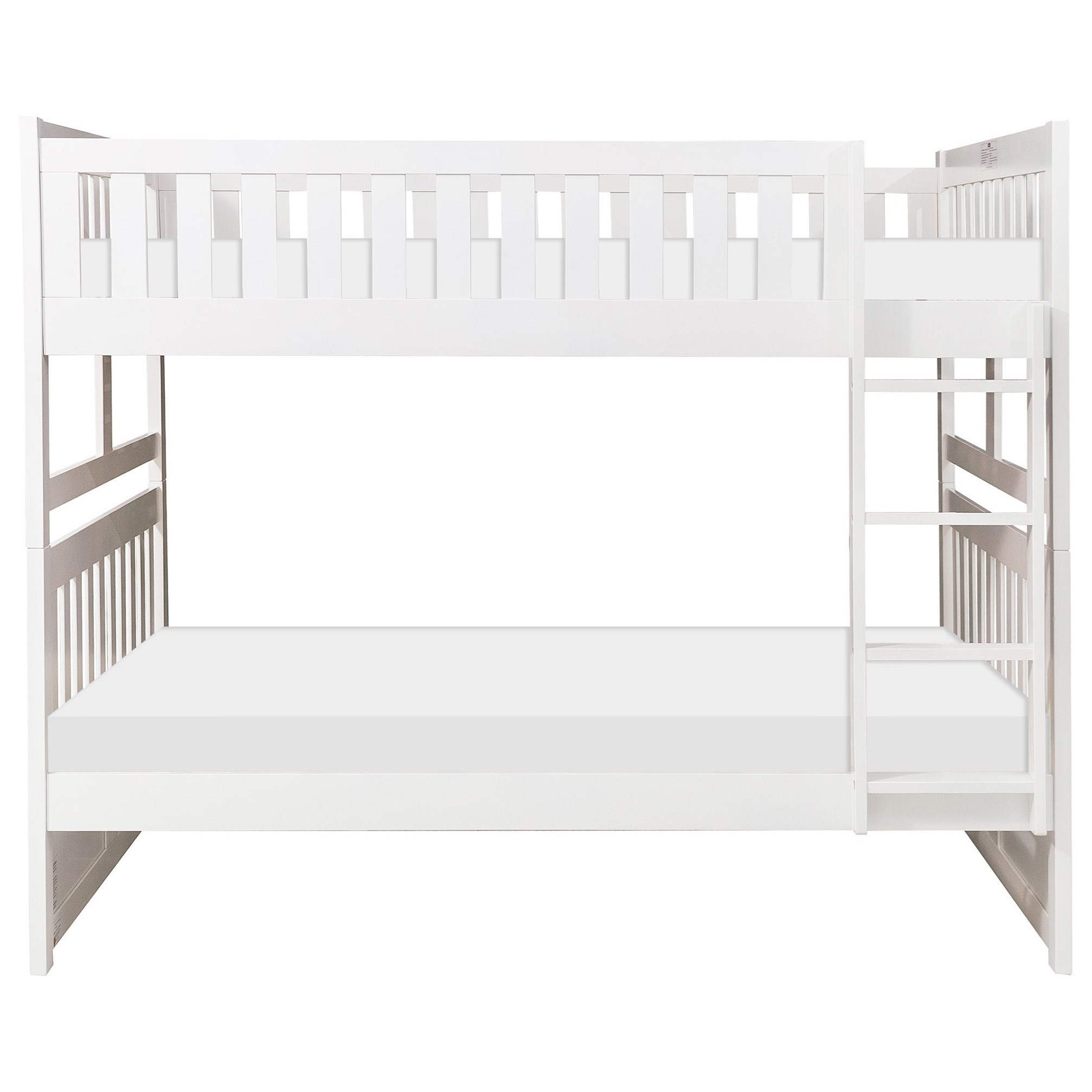 Galen Full Over Full Bunk Bed by Homelegance at Beck's Furniture