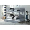 Homelegance Orion Full Over Full Bunk Bed with Trundle Unit - Item Number: B2063FF-1+2+SL+R