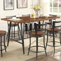Homelegance Selbyville Counter Height Table - Item Number: 5489WD-36