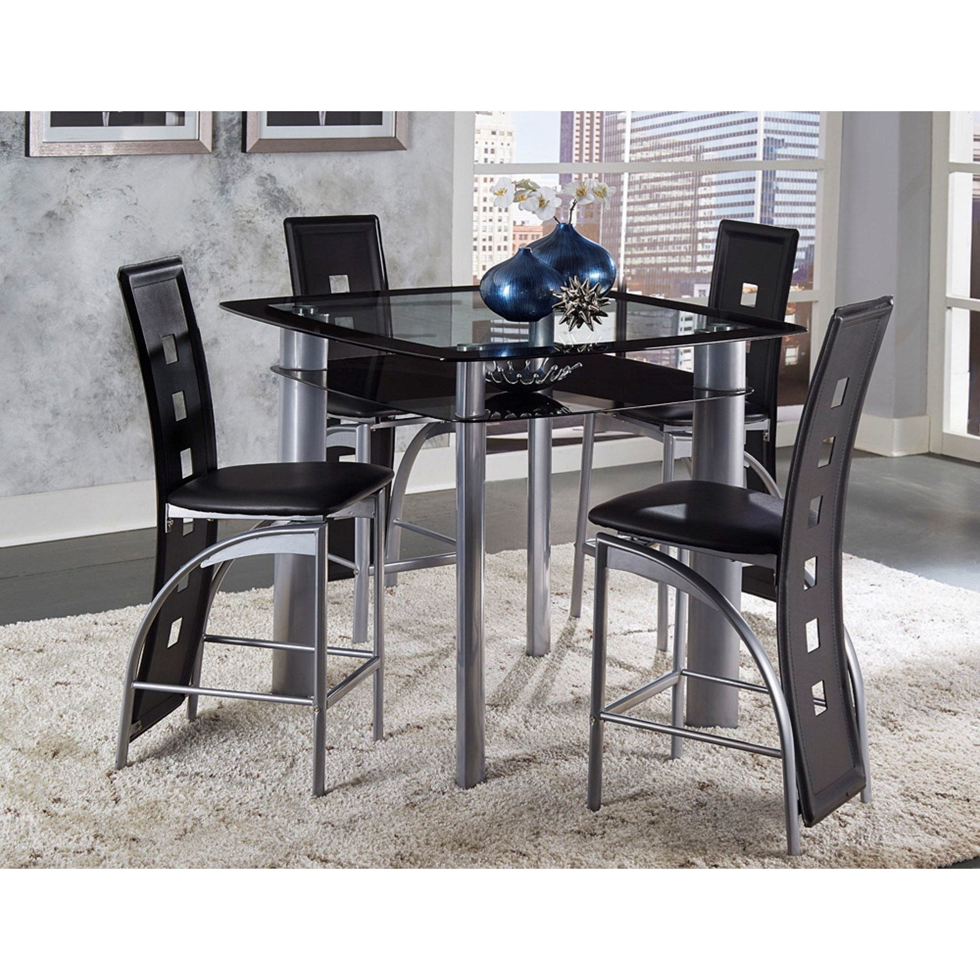Sona Counter Height Table and Chair Set by Homelegance at Beck's Furniture