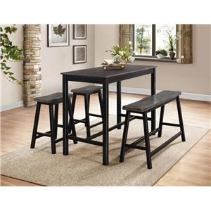 Homelegance Sophie Counter Height Dining Set