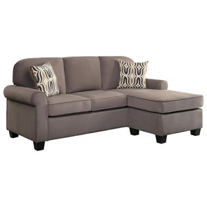 Homelegance Sprague Reversible Sofa Chaise