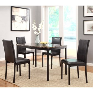 Homelegance Tempe Kitchen Table and Chair Set