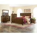 Homelegance Terrace Mission Queen Headboard and Footboard