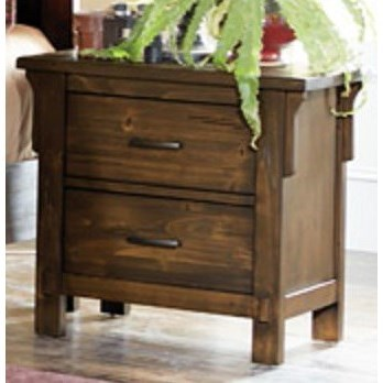 Homelegance Terrace Mission Nightstand - Item Number: 1907-4