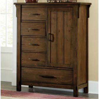 Homelegance Terrace Mission Chest with Doors - Item Number: 1907-9