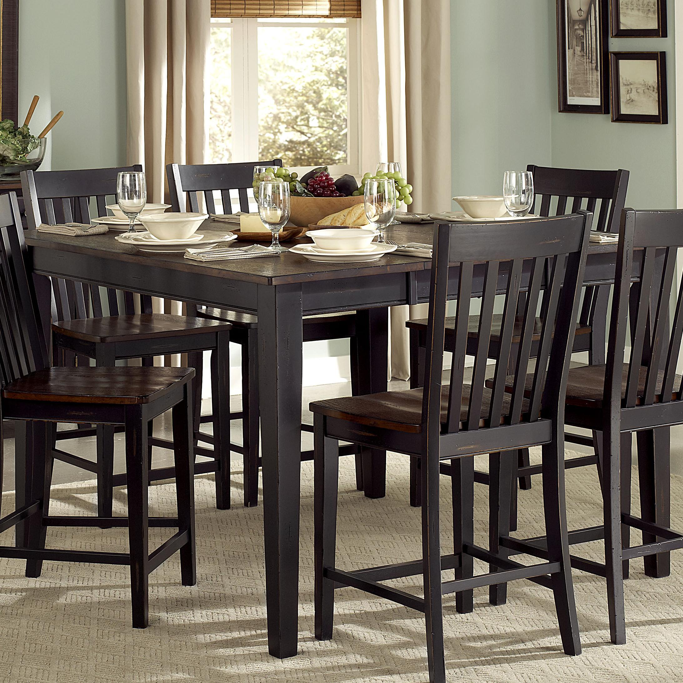 Homelegance Three Falls Counter Height Table - Item Number: 5023-36
