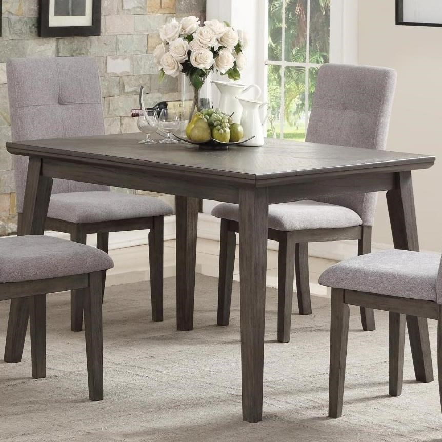 Transitional Dining Room Table: Homelegance University Transitional Rectangular Dining