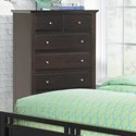 Homelegance Verano 6-Drawer Chest of Drawers - Item Number: 1733-9
