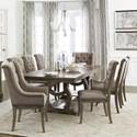 Homelegance Vermillion Dining Table Set - Item Number: 5442-96+96B+2xA+6xS