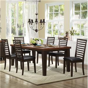 Homelegance Walsh 7 Piece Table & Chair Set