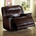 Homelegance Wasola Casual Recliner - Item Number: 8414DBR-1