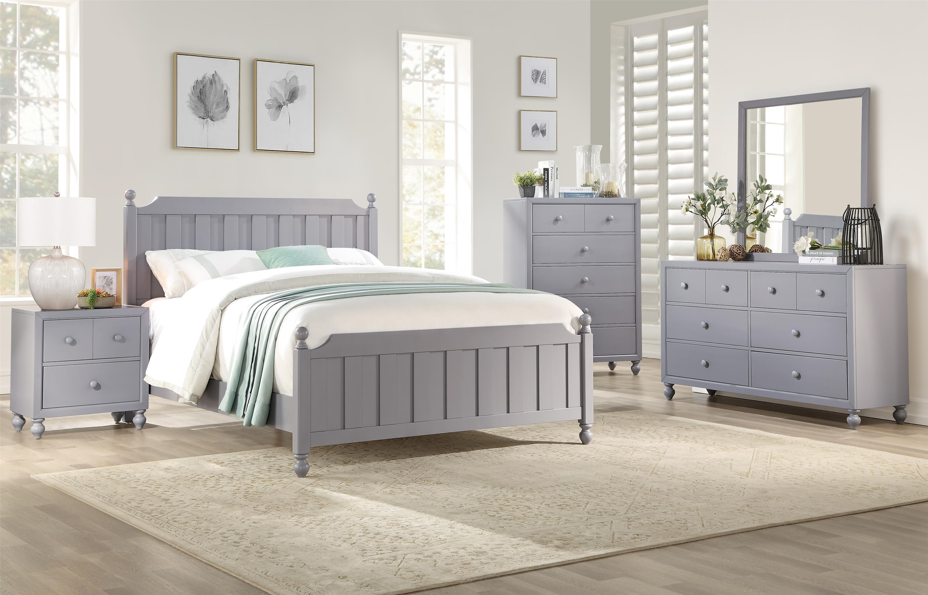Wellsummer Twin Bedroom Group by Homelegance at Beck's Furniture