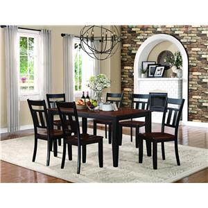 Homelegance Westport 7 Piece Dining Set