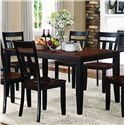 Homelegance Westport Dining Table - Item Number: 5079BK-66