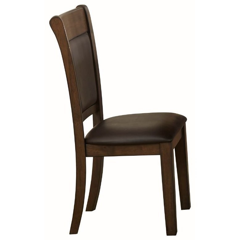 Wieland Side Chair by Homelegance at Beck's Furniture
