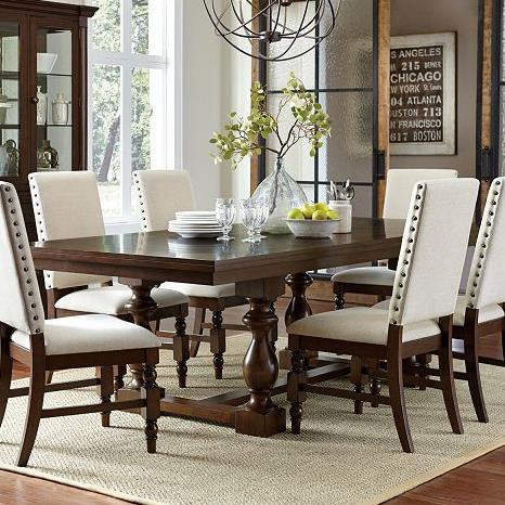 Homelegance Yates  Dining Table - Item Number: 5167-96B+96