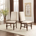 Homelegance Yates  Linen Side Chair