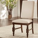 Homelegance Yates  Linen Side Chair  - Item Number: 5167FS