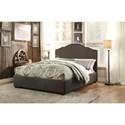 Homelegance Zaira Full Upholstered Bed - Item Number: 1885FN-1+2+3