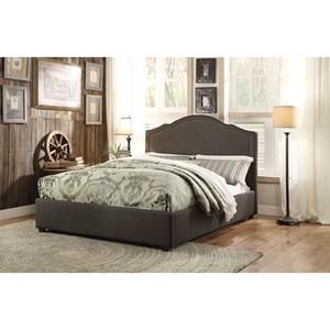 Homelegance Zaira King Upholstered Bed