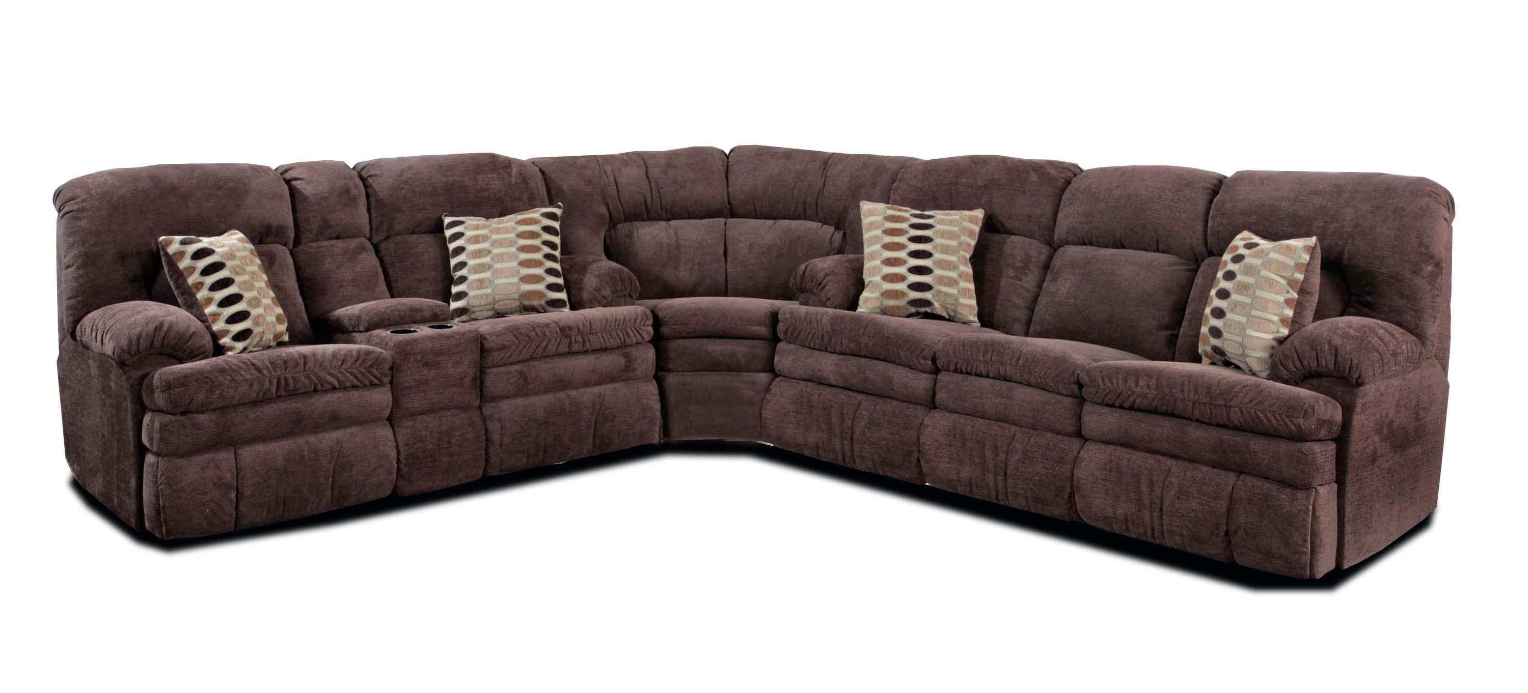 HomeStretch 103 3-Piece Reclining Sectional - Item Number: 103-30+22+00-22