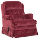 HomeStretch 106 Casual Swivel Glider Recliner - Item Number: 106-93-41
