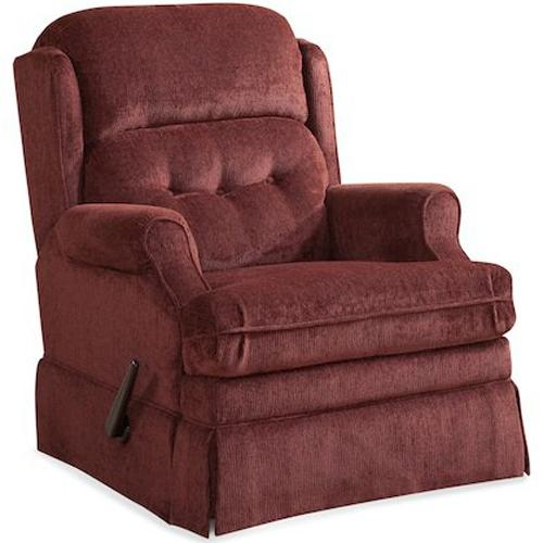 HomeStretch 106 Casual Swivel Glider Recliner - Item Number: 106-93-42