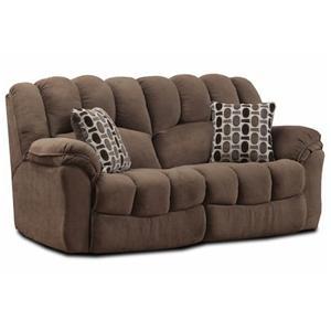 HomeStretch 108 Double Reclining Sofa